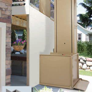 Porch Lifts in San Diego - Outdoor Lift - Platform Lift - Deck Lift