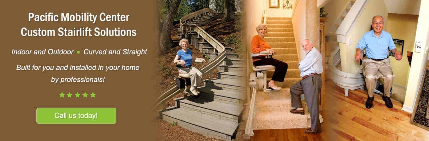 Pacific Mobility Center Custom Stair Lift Solutions